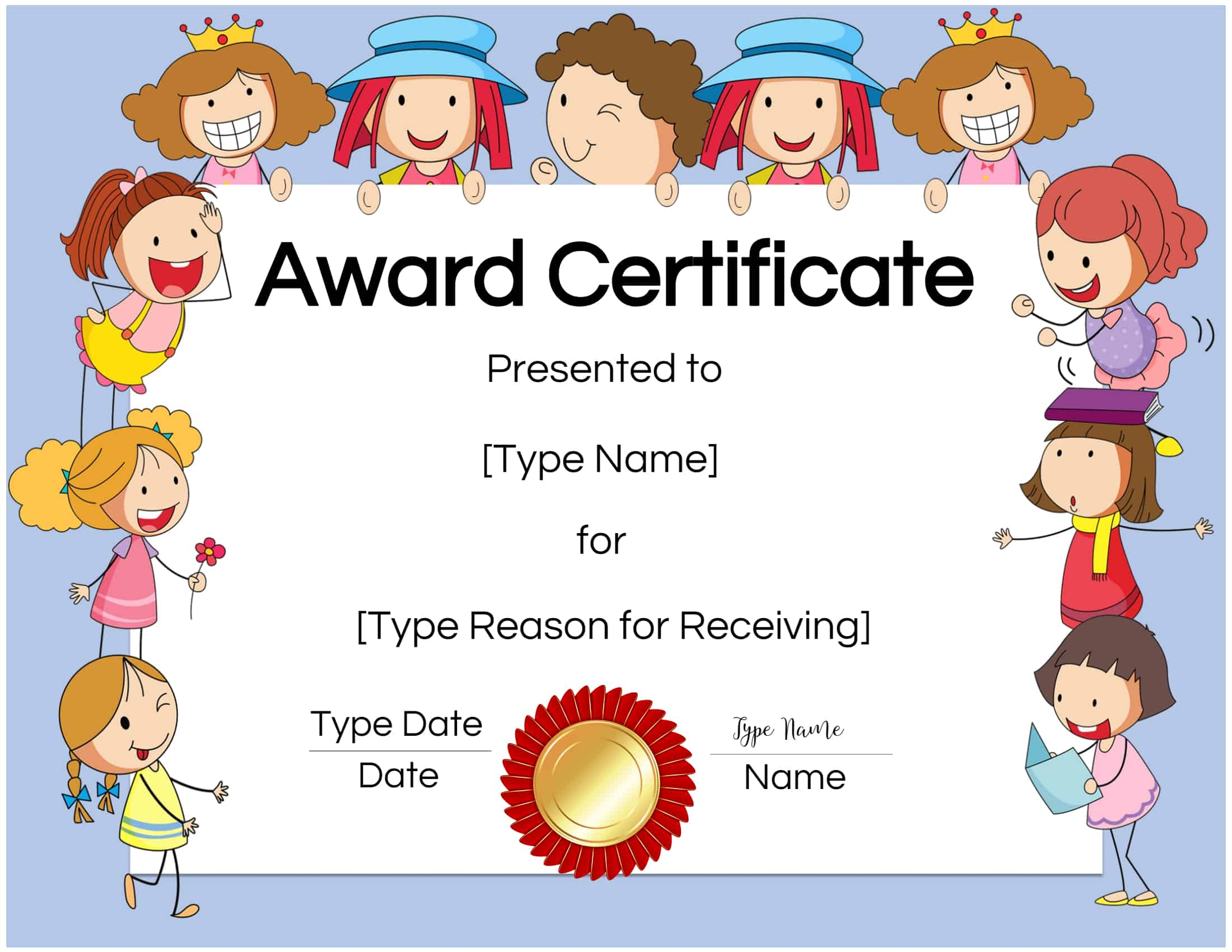 It's just an image of Wild Free Printable Certificates for Students