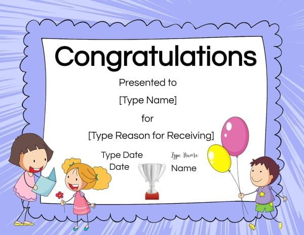 Congrats Award