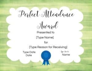 Participation template